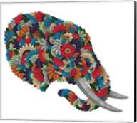 Blooming Animals - Elephant Fine-Art Print