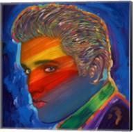 Elvis Rainbow Fine-Art Print