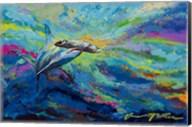 After Dinner Swim - Hammer Head Shark Fine-Art Print