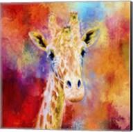 Jazzy Giraffe Fine-Art Print