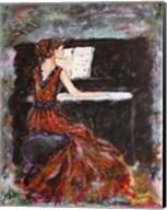 Playing Chopin Fine-Art Print