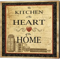 Kitchen Heart Vignette Fine-Art Print