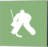 Hockey Player Silhouette - Part II Fine-Art Print