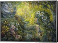 Dryad And The Dragonfly Fine-Art Print