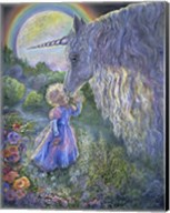 Unicorn Kiss Fine-Art Print