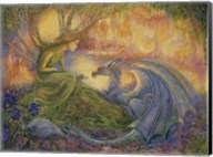 The Dryad and The Dragon Fine-Art Print