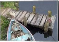 Docked Boat Fine-Art Print