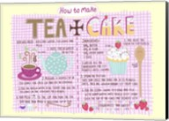Tea And Cake Fine-Art Print