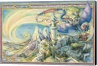 Arrive By Dragon Fine-Art Print