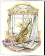 Violin And Recorder Fine-Art Print