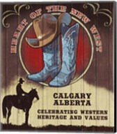 Calgary, Alberta Fine-Art Print