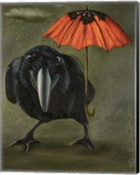Ravens Rain 2 Fine-Art Print