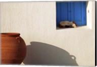 Nap Time in Mykonos Fine-Art Print