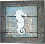 Gypsy Sea Blue Framed 2 Fine-Art Print
