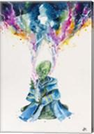 Alien Dabbing Fine-Art Print