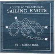 Vintage Sailing Knots VIII Fine-Art Print