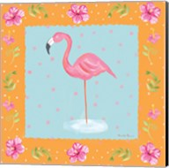 Flamingo Dance IV Fine-Art Print