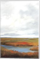 Sunset Over The Marsh II Fine-Art Print