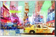 Taxis in Times Square 2.0 Fine-Art Print