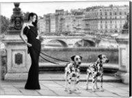 Walking in Paris Fine-Art Print