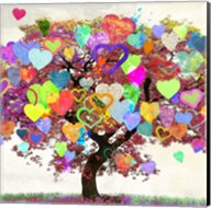 Tree of Love (detail) Fine-Art Print