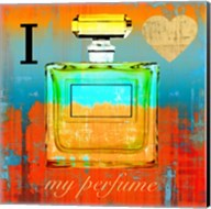 I Love my Perfume Fine-Art Print