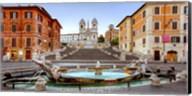 Piazza di Spagna, Roma Fine-Art Print