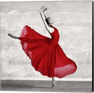 Ballerina in Red (detail) Fine-Art Print