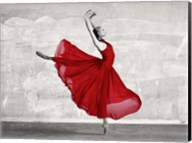Ballerina in Red Fine-Art Print
