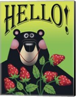Strawberry Bear Fine-Art Print
