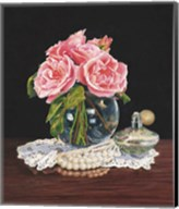 Roses, Perfume and Lace Fine-Art Print