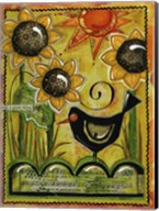 Sunshine And Sunflowers Fine-Art Print