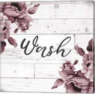 Wash Script Fine-Art Print