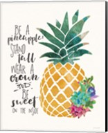 Be a Pineapple Fine-Art Print