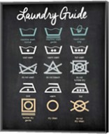 Laundry Guide Fine-Art Print