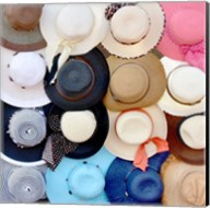 Hats on a Rack Fine-Art Print