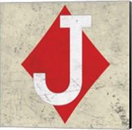 Jack of Diamond Antique Fine-Art Print