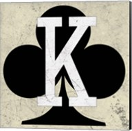 King of Clubs Antique Fine-Art Print