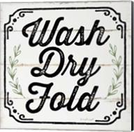 Wash, Dry, Fold, II Fine-Art Print