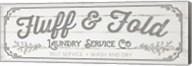 Fluff & Fold - Gray Fine-Art Print