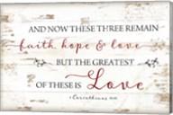 1 Corinthians 13:13 Fine-Art Print