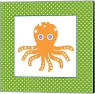 Cute Orange Octopus Fine-Art Print