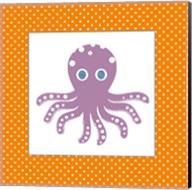 Cute Purple Octopus Fine-Art Print