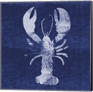 Indigo Lobster II Fine-Art Print