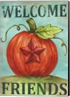 Pumpkin Star Welcome Autumn 2 Fine-Art Print
