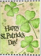 St. Patrick's Day Clover Fine-Art Print