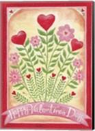 Valentines Day Happy Flowers Fine-Art Print
