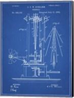 Windmill Patent - Blueprint Fine-Art Print
