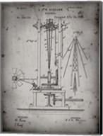 Windmill Patent - Faded Grey Fine-Art Print