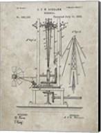 Windmill Patent - Sandstone Fine-Art Print